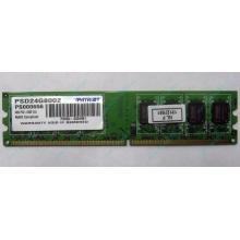 Модуль оперативной памяти 4Gb DDR2 Patriot PSD24G8002 pc-6400 (800MHz)  (Керчь)