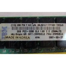 IBM 39M5811 39M5812 2Gb (2048Mb) DDR2 ECC Reg memory (Керчь)