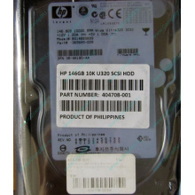 Жёсткий диск 146.8Gb HP 365695-008 404708-001 BD14689BB9 256716-B22 MAW3147NC 10000 rpm Ultra320 Wide SCSI купить в Керчи, цена (Керчь).